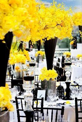 casamento-amarelo-e-preto-15 | Decoração de Casamento