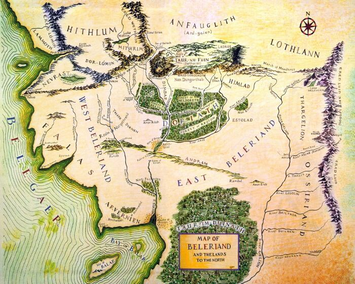 Beleriand The One Wiki To Rule Them All Fandom Powered By