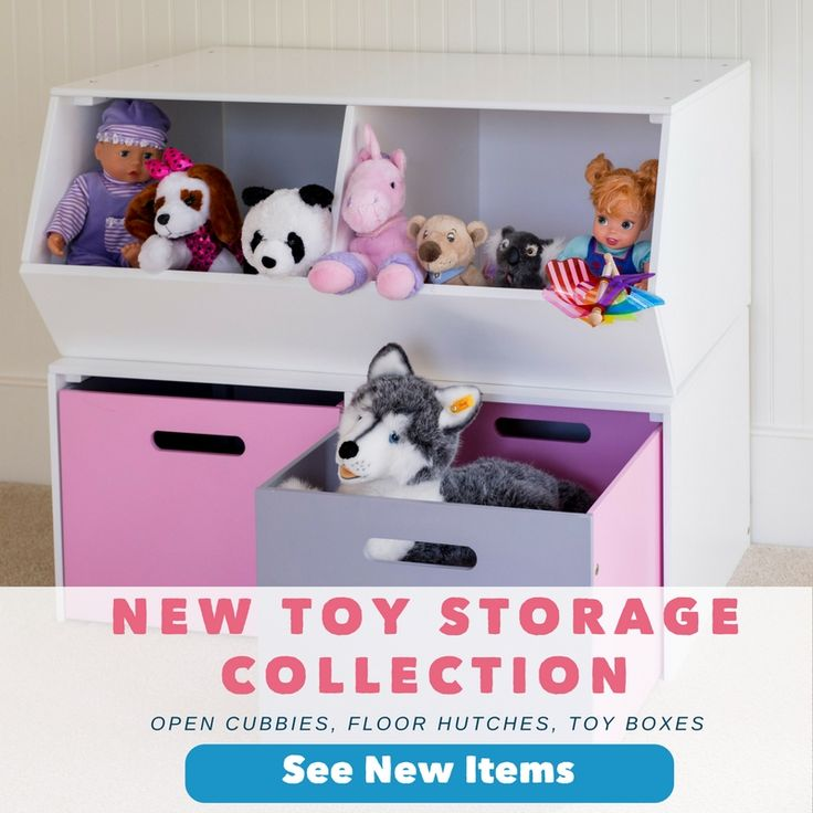 New Toy Storage from Maxtrix Kids. Configure your solution with any combination of toy boxes, hutches, benches & more. Shop with free shipping! https://www.maxtrixkids.com/new-toy-storage-mix-match-playroom-bedroom
