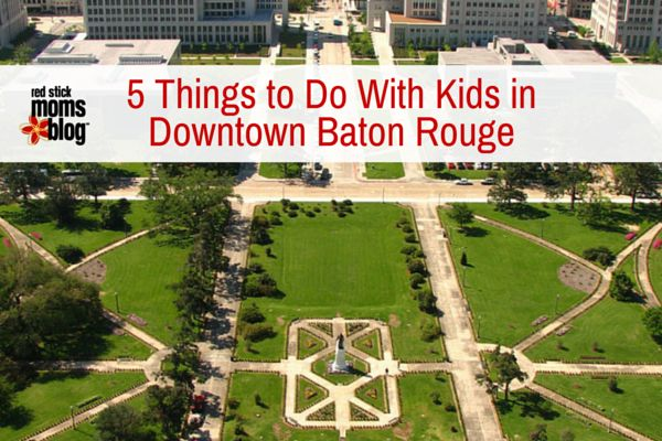 Explore Downtown Baton Rouge with your kids and get to know this amazing city with these 5 free or inexpensive ideas!