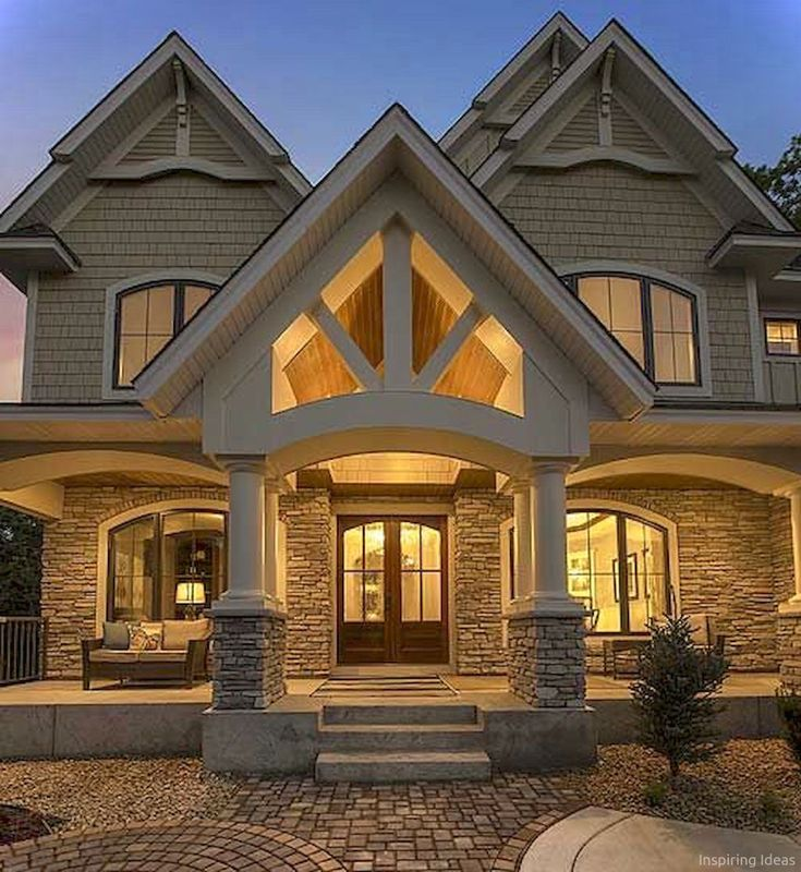 Delorme Designs Awesome Bungalow Craftsman: Best 25+ House Exteriors Ideas On Pinterest