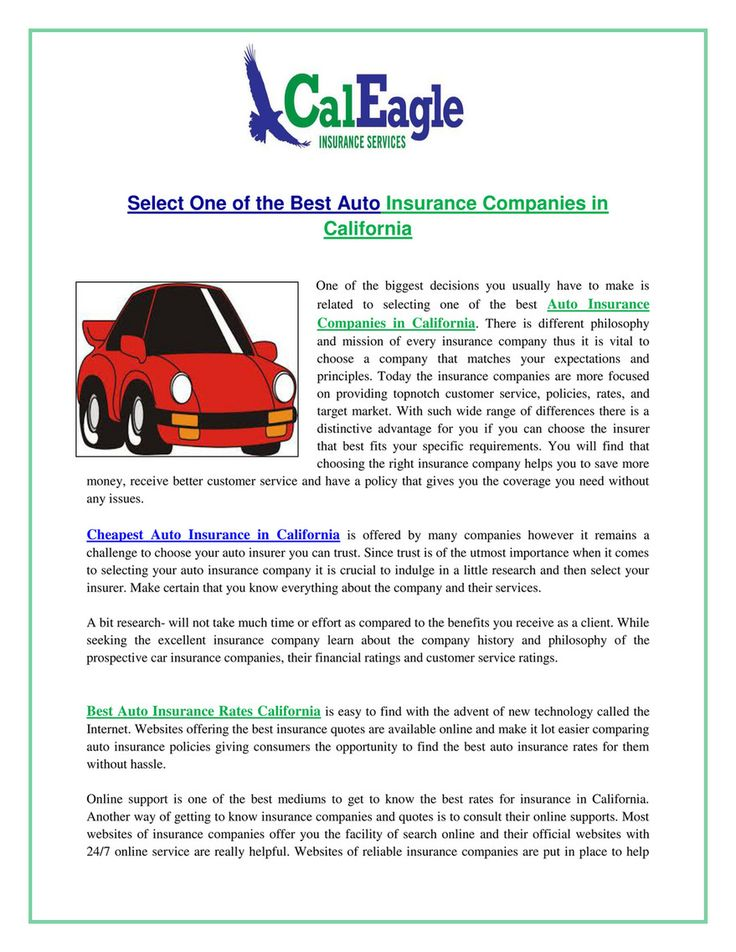 151 reference of Auto Insurance California Quotes in 2020