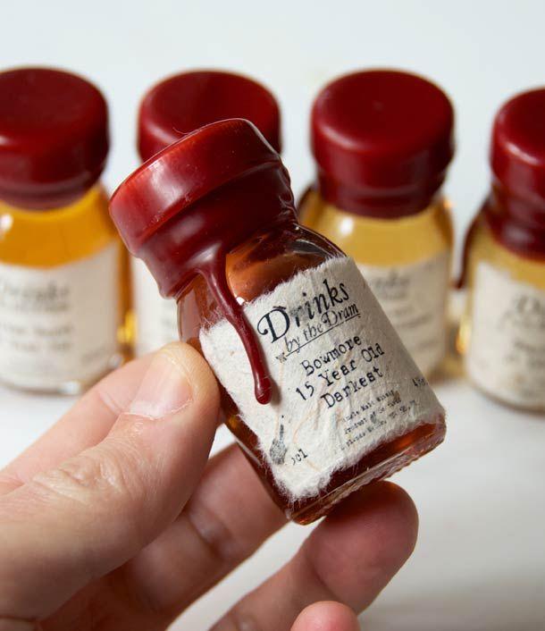 Een originele adventskalender, elke dag een andere soort Whisky !   Ufunk.net