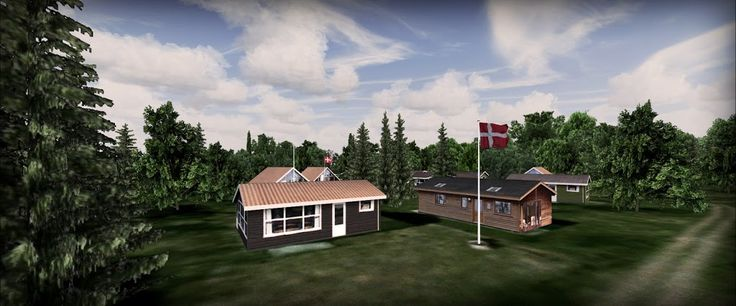 Danish Airfields X – Tuno – review (5****) • C-Aviation #Denmark #FSX #Scenery #VidanDesign