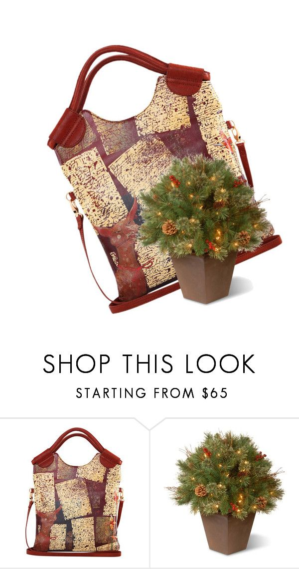 """""""how did spying on your own wifes work out for you?"""" by awewa ❤ liked on Polyvore featuring National Tree Company"""