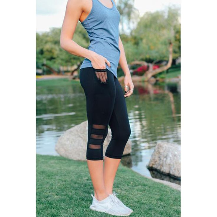 Cute High Waist Elastic Capri Mesh Leggings Fitness leggings, gym leggings, workout leggings, workout pants, yoga leggings, athletic leggings, womens gym leggings, fitness tights, leggings fitness, sports leggings, high waisted gym leggings, running leggings, workout pants for women, ladies gym leggings, workout tights, exercise leggings, exercise pants, gym pants, best workout leggings, activewear leggings, gym pants womens, women's workout leggings, funky gym leggings, womens workout…