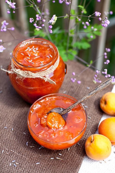 Apricot Jam with Lavender | Orange .:. Apricot .:. Pineapple .:. Reci ...