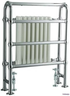 Freestanding radiator towel rails, Floor standing towel rails, Traditional bathroom heating, Traditional bathrooms, Holloways of Ludlow