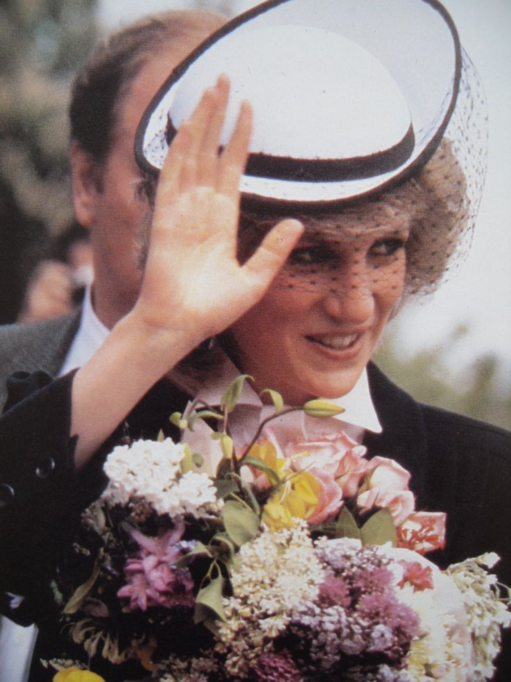 May 30, 1984: Princess Diana on a walkabout during the renaming of the West Cheshire Hospital to the Countess of Chester Hospital in honour of one of her titles.