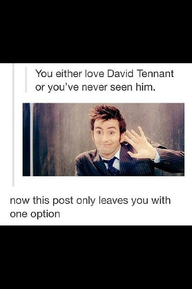 16 signs David Tennant is YOUR Doctor