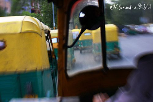 India new Delhi Taxi photographer Alexandra Ekdahl Auto Rickshaw
