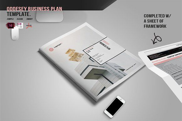 ODDESEY Business Plan Builder by BizzCreatives on @creativemarket