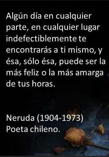 Algún día - Pablo Neruda