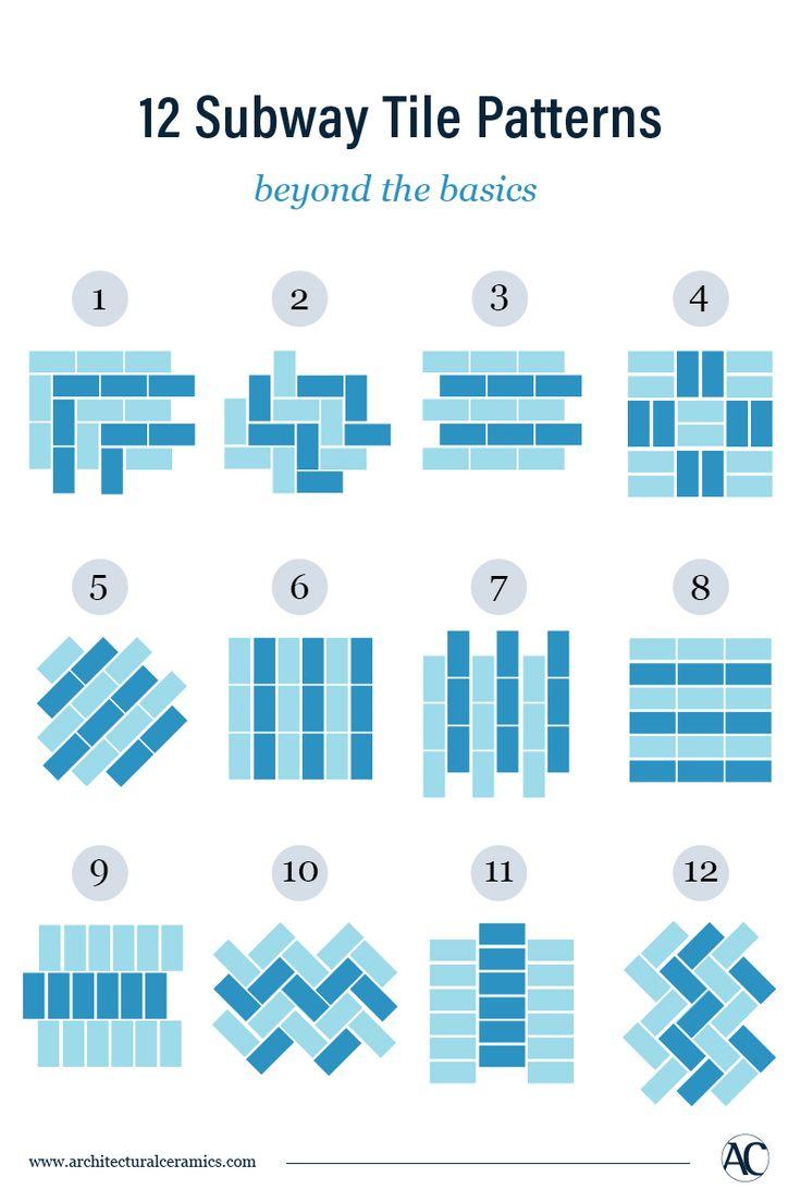 12 Creative Subway Tile Patterns