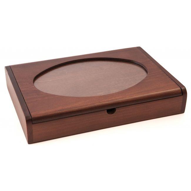 Caja organizadora con separaciones 7551 - Accesorios de madera - DMC