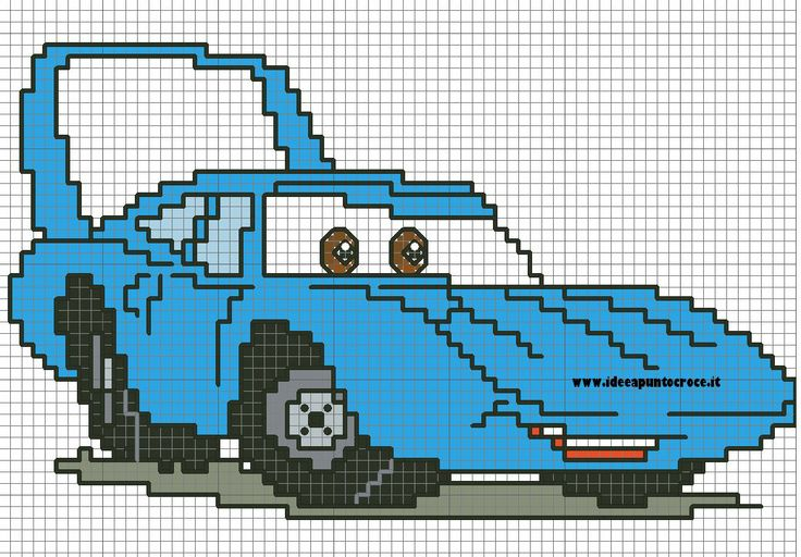 Cross stitch*<3* Point de croix SCHEMA CAR