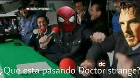¿Que esta pasando DR Strange?