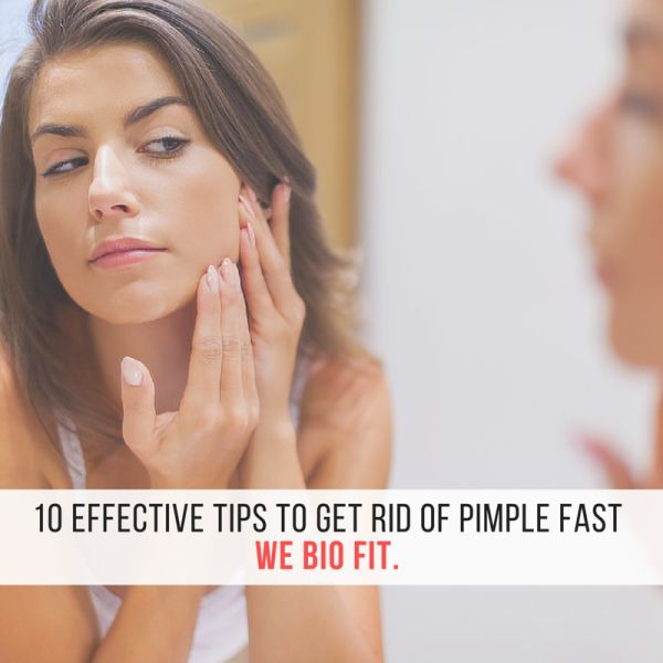 how to get rid of pimples www.webiofit.com