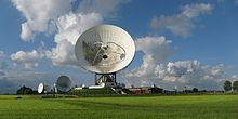 Signals intelligence - Satellite ground station of the Dutch Nationale SIGINT Organisatie (NSO) (2012)
