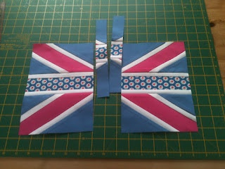 Union Jack Tutorial! Making this this weekend in honor of the London Olympics!
