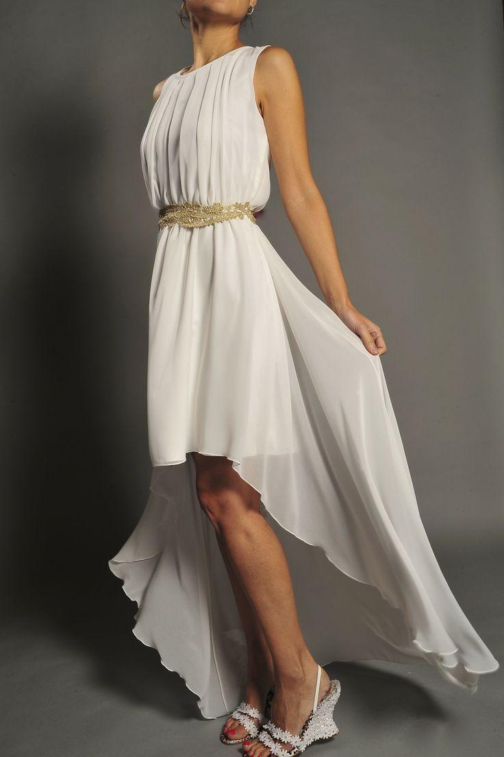 Vestido de novia estilo griego modelo 3483 by Veneno en la piel | Boutique Clara. Tu tienda de vestidos de fiesta.