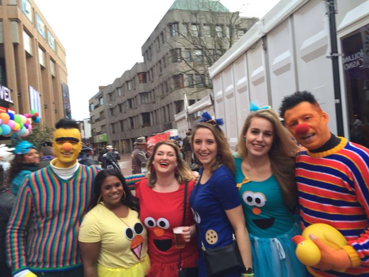 Sesamstraat outfit carnaval