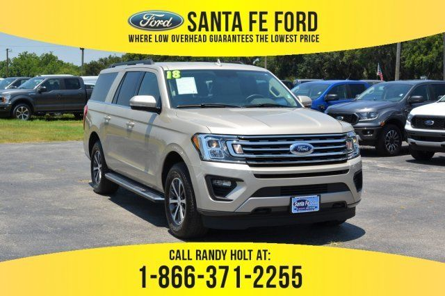 Used 2018 Ford Expedition Max Xlt 4x4 Suv For Sale Gainesville Fl