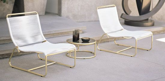 walter lamb: Concrete Patio, Brown Jordans Lounges Chairs, Patio Furniture, Outdoor Chairs, Design Within Reach, Outdoor Spaces, Walter Lamb, Lamb Lounges, Lamb Collection