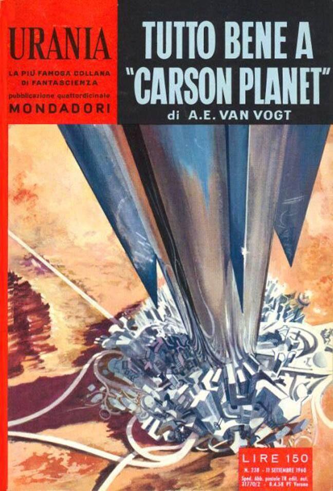 Urania #238 (1960-09-11) Arnoldo Mondadori Editore Karel Thole cover