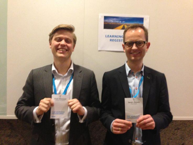 Learning partners: Mark & Søren O