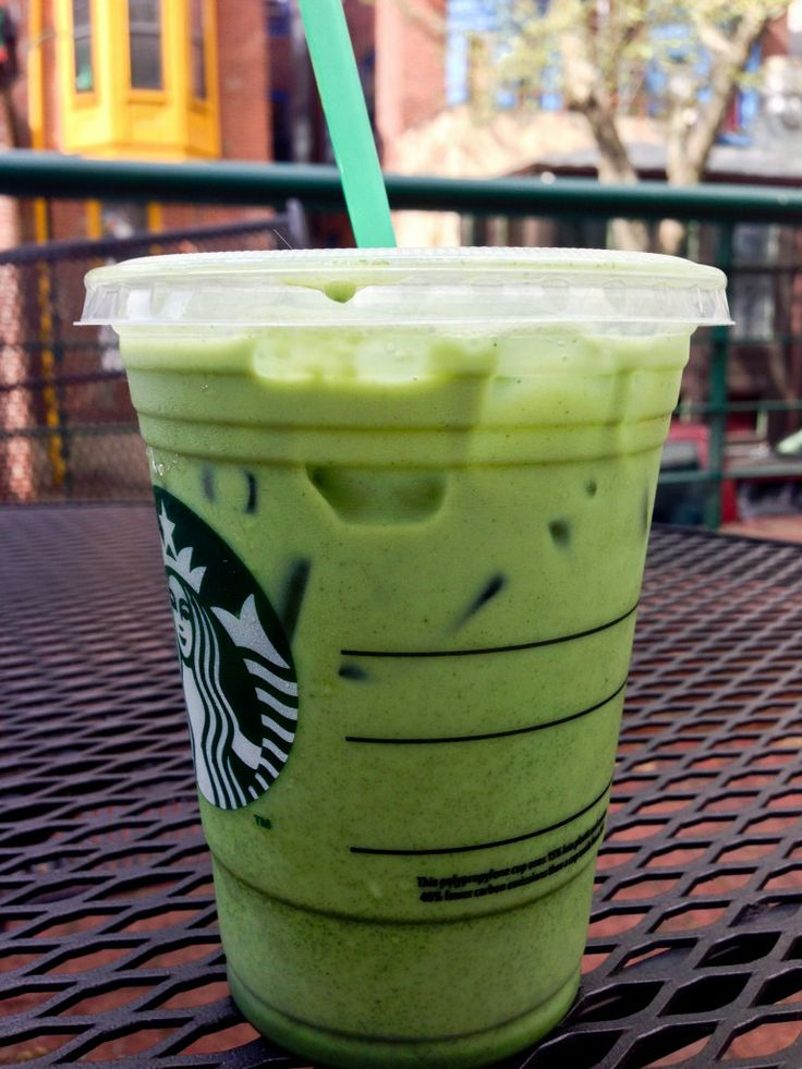 Iced Green Tea Latte | Starbucks - Young And Caffeinated