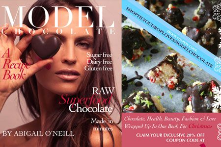 Model Chocolate is offering SHOP Til You Drop readers the chance to purchase the newly launched e-book at 20% just in time for Christmas...