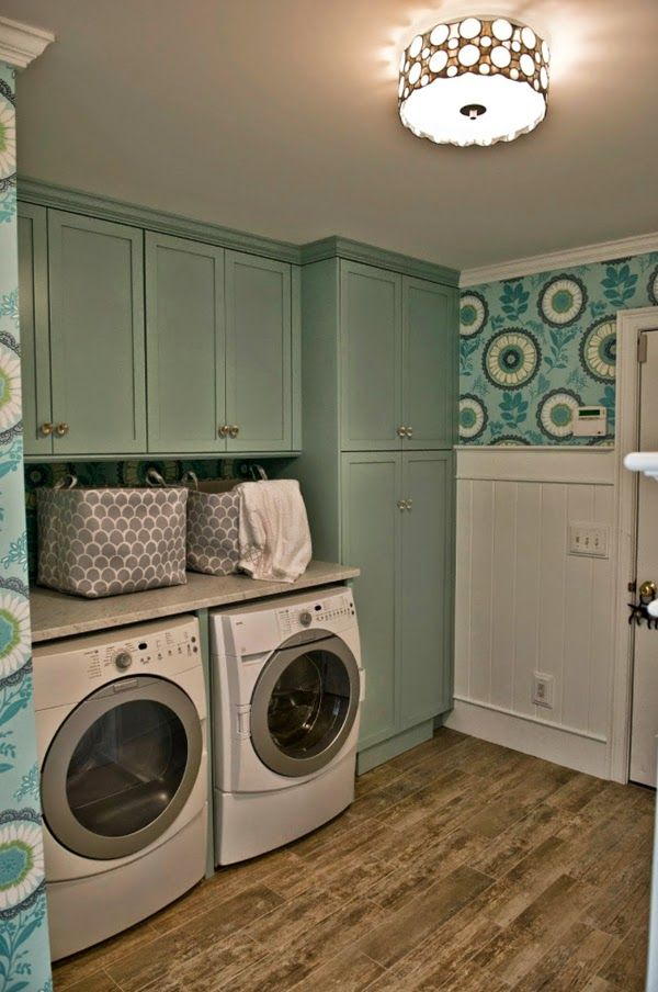 Hooper Patterson Interior Design #laundry