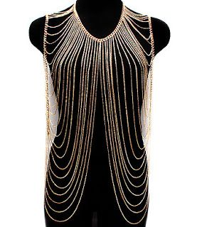 plus size body chain | Fashion For The Curvy Girl: Body Chains!