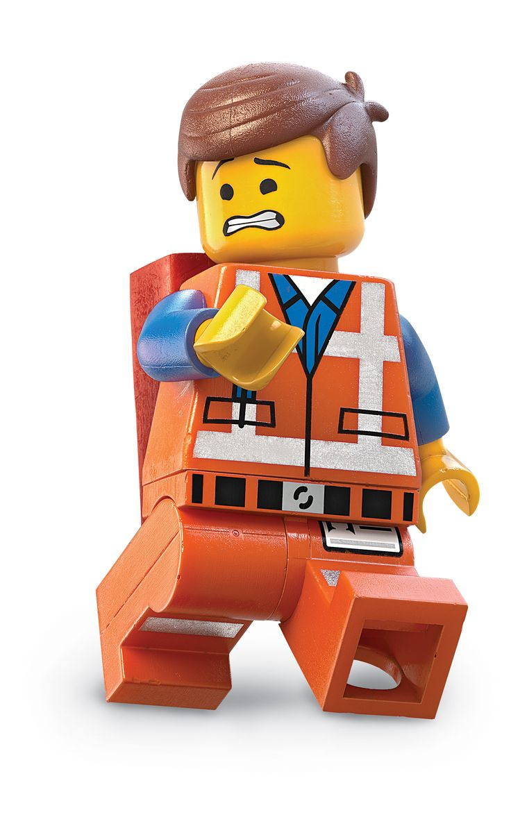 """The Lego Movie - """"GET IT OFF ME! GET IT OFF GET IT OFF GET IT OFF!""""  lol when you finally figure out what it is"""