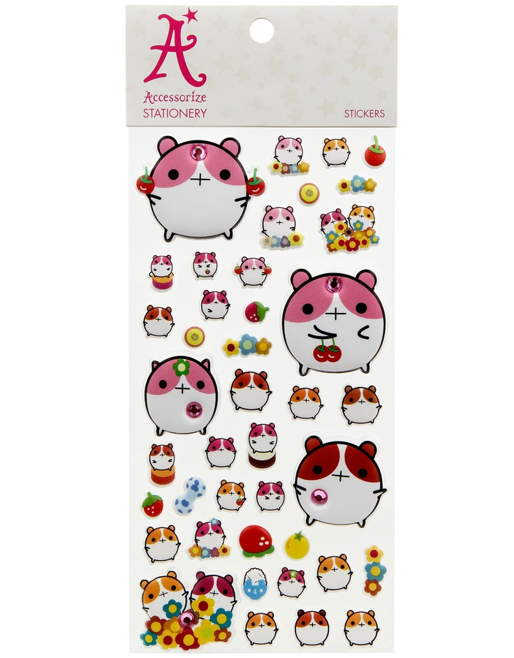 Cute Creature Stickers | Multi | Accessorize, 2,90e