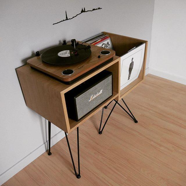 Ebeniste Designers Kopo Creation Meuble Vinyle Meuble Pour Platine Vinyle Mobilier De Salon