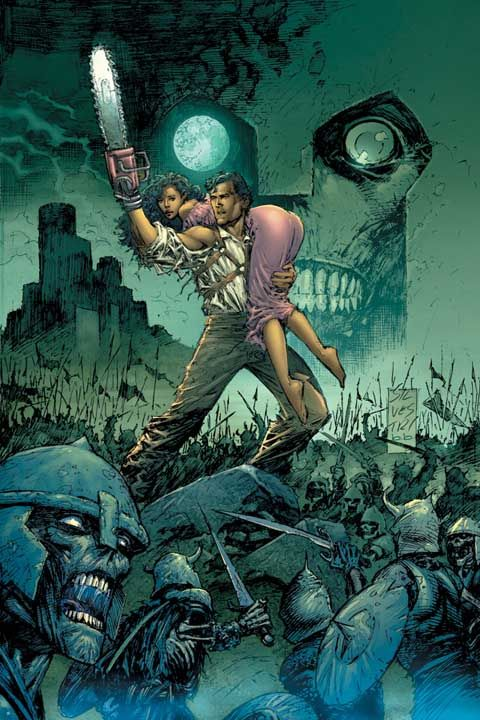 Ash Williams (Ashley James Williams) art by Marc Silvestri