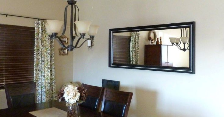 Agreeable Large Dining Room Mirror Leaning Decor Design ...