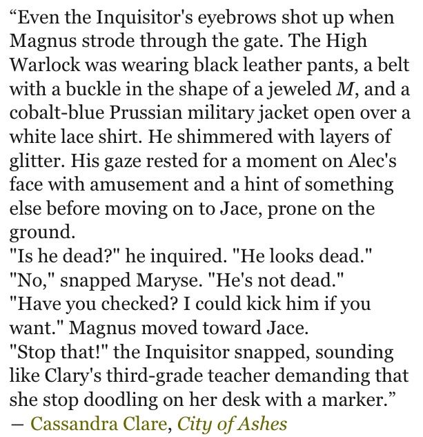 Oh Magnus... Yet another reason why he's my favorite.