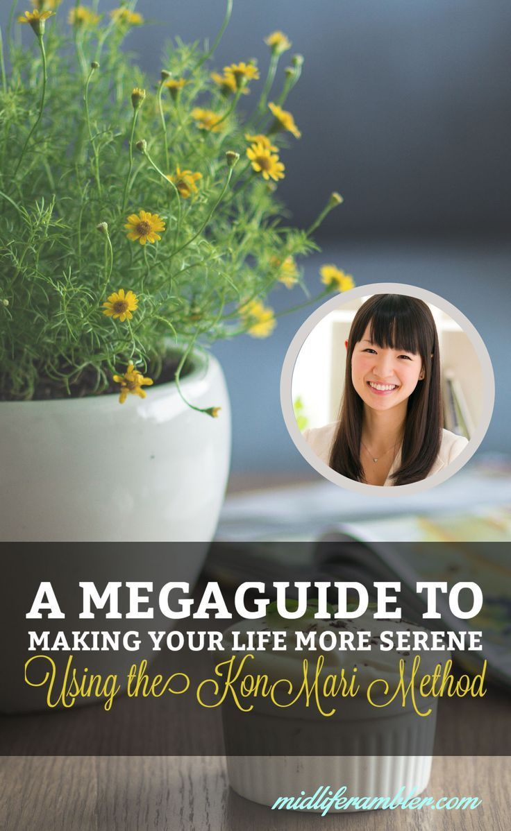I've spent the last year organizing my life with Marie Kondo's The Life-Changing Magic of Tidying Up. Here's a complete list of resources and tips that I've followed to make my life more serene and organized.