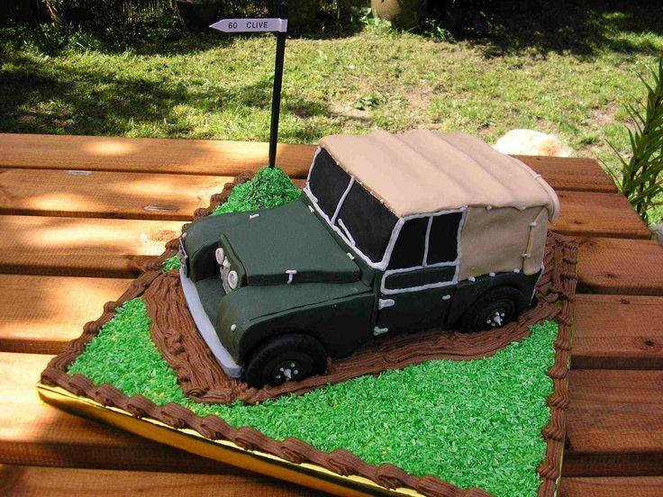 Land Rover Cake Tin