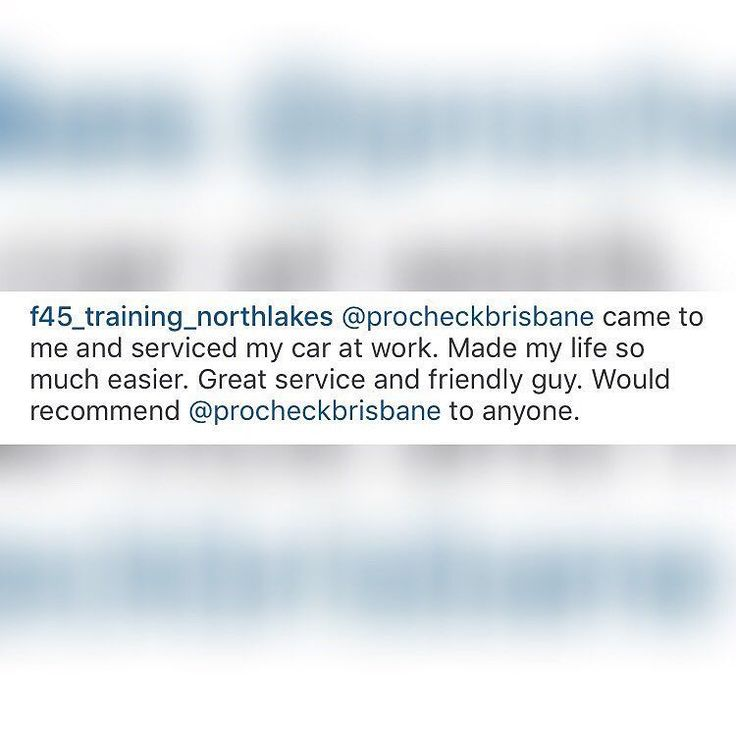 Thanks heaps for the feed back!!@f45_training_northlakes  #procheck #brisbanemobilemechanic #review #feedback #stayathomemum #mumlife #thrivingmammas #mummyblogger #momlife #mommyblog #motherhood #mumsofinstagram #car #cars #instacars #instaauto #auto #cargram #carstagram  #motor #motors #autotrend #mums #cargramm #carswithoutlimits #carsovereverything #s4s #followme #thecarlovers #carporn