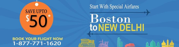 CHEAP #FLIGHTS TO DELHI FROM BOSTON SAVE UPTO $50* On flight booking Looking for the Best and lowest Airfare on #internationalflights from #BostontoDelhi? FlyDealFare is offering the lowest, cheapest fares for flight #tickets.