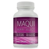Maqui Berry Select Natural Maqui Berry Weight Loss Formula – Lose Weight and Burn Belly Fat with Maqui Berry Diet Supplement ~ 1 Bottle