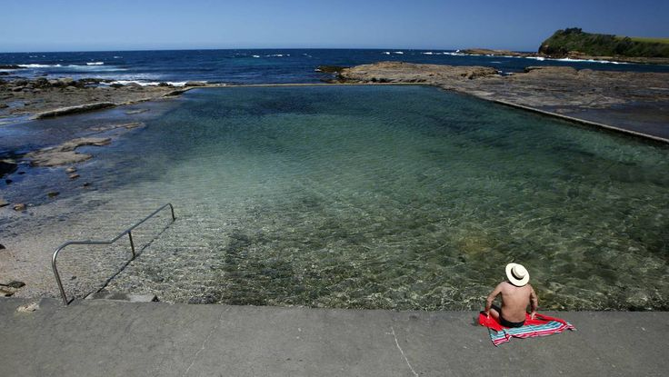 Gerringong's his and her rock pools