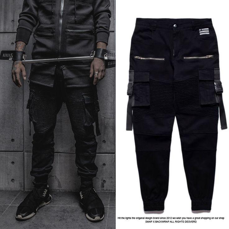 2015 мода крутой байкер бегунов мужчин хип хоп черная звезда канье уэст tyga тощий тонкой дизайнерский бренд добычу hba скейт брюкикупить в магазине Hip Hop BoyнаAliExpress