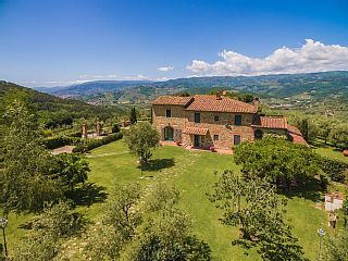1814 Euros. 7 beds and 7 baths. Large and beautiful farmhouse dating back to the second half of the 18th century, situated in quiet and panoramic location approx. This luxury villa offers a exclusive panorama over this charming landscape and permits to easily reach all the places that are featuring the historical, natural and gastronomical characteristics of this wonderful locality near Florence.