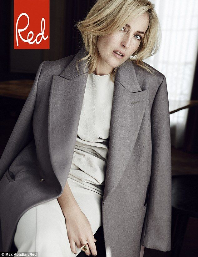 Gillian Anderson opens up about The Fall co-star Jamie Dornan in Red | Daily Mail Online