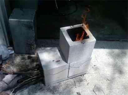 30 best images about rocket stoves on pinterest stove for 4 block rocket stove